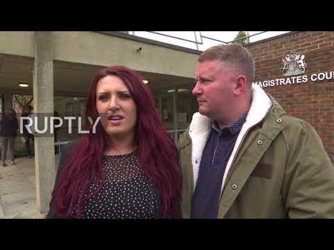 UK: Britain First leaders appear in court over religiously motivated harassment charges