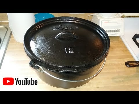How To Season A New Dutch Oven