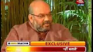 Amit Shah interview to Ashok Singhal Aaj Tak as UP Prabhari (25 Apr 2014)