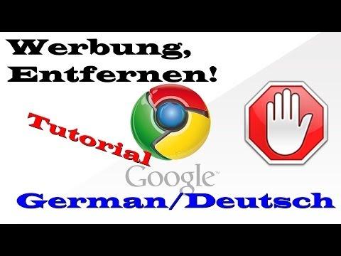 Tutorial: Google Chrome AdBlock Installieren - Werbung Kostenlos Entfernen! [HD+] [German]