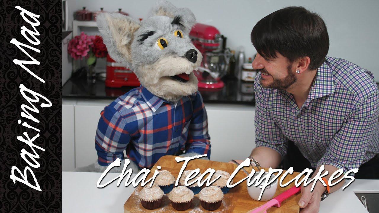 Eric Lanlard's Chai Tea Cupcake Recipe feat. his new apprentice ...
