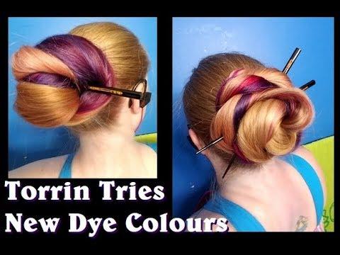 Torrin Tries: New Dye Colours