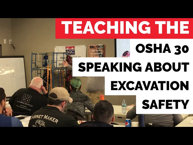 TSCTA NJ OSHA 30 Sneak Peek