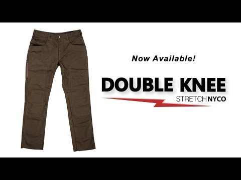 1620 Workwear Double Knee Stretch NYCO Work Pant