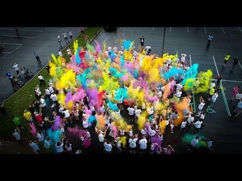 Corydon Elementary School Color Run