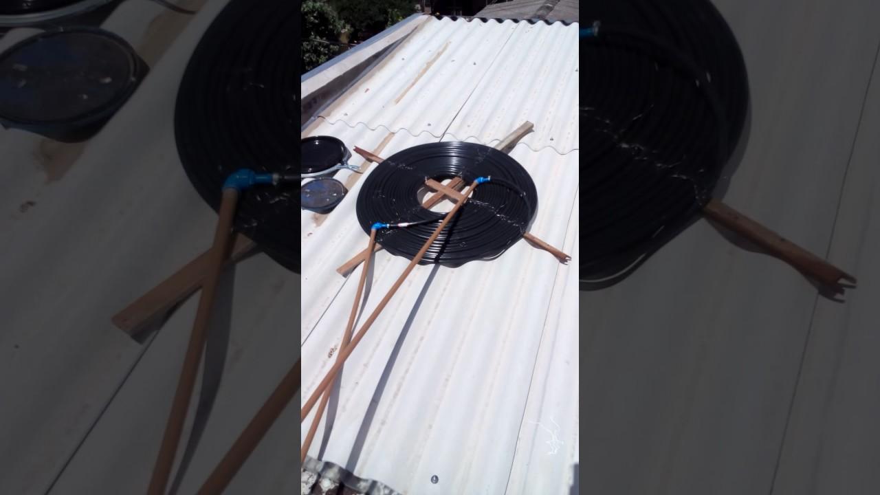 Como Fazer Aquecedor Solar Com Mangueira Preta Df85 Ivango