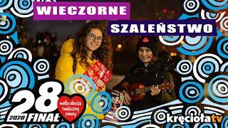 Wieczorne szaleństwo na ulicach Warszawy - 28. Finał WOŚP #wosp2020