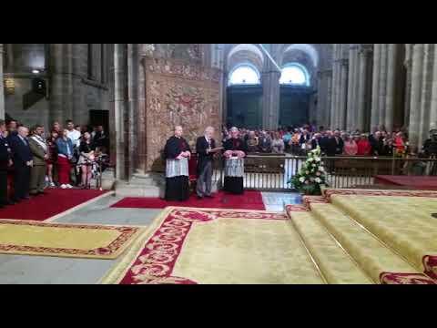 Santalices aboga por una España de concordia en la tradicional ofrenda al apóstol