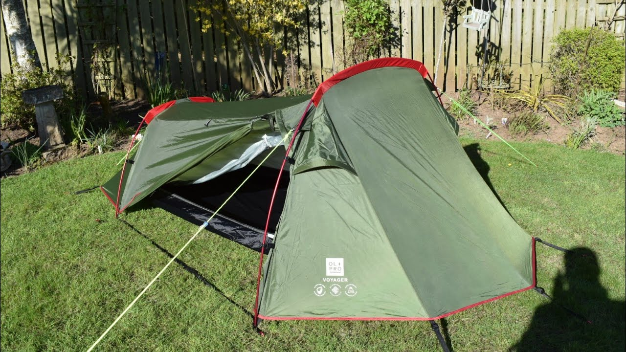 Wild camping Scotland. Test and review of of Olpro voyager ...