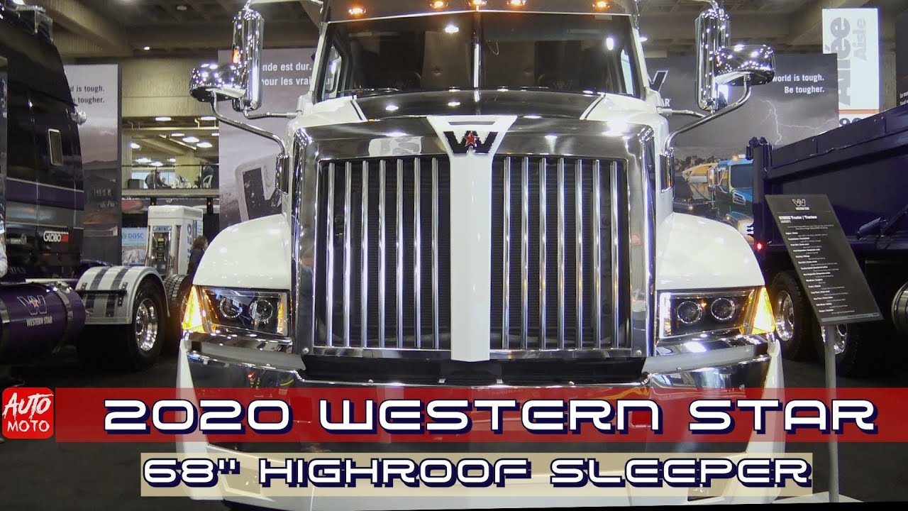 2020 Western Star 5700XE Tractor 68'' HigRoof Sleeper - Exterior And Interior - ExpoCam 20
