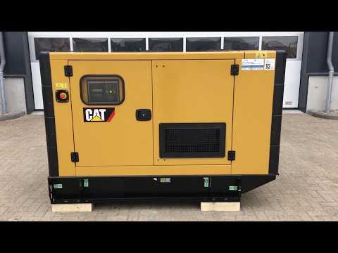 Caterpillar C3.3 50 kVA Supersilent Generatorset
