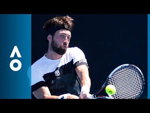 Nikoloz Basilashvili v Ruben Bemelmans match highlights (2R) | Australian Open 2018