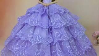 Bộ sưu tập váy cưới búp bê p1