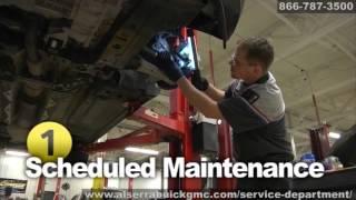Buick GMC Engine Service Maintenance Leaks Repair Grand Blanc Flint Michigan Al Serra Auto Plaza