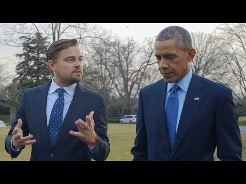 Leonardo DiCaprio and Barack Obama Discuss Impacts of Climate Change on the President's Daughters from YouTube · Duration:  3 minutes 29 seconds