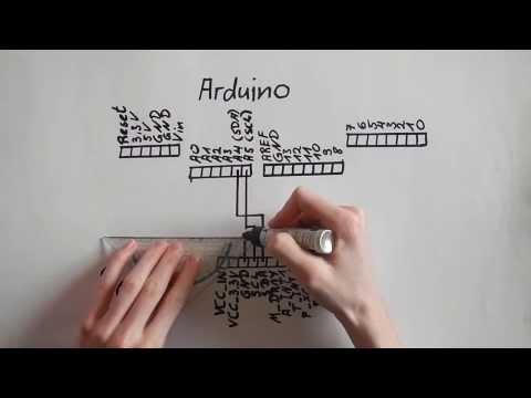 Arduino Tutorial Zum ADXL345, Beschleunigungssensor