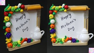 Easy Photo Frame with Popsicle Stick / Mother's Da