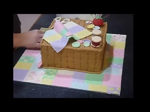 Sewing/patchwork Cake