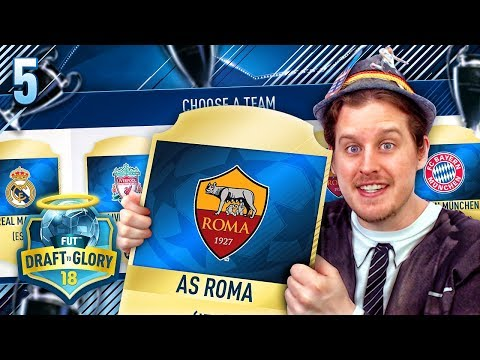 THE CHAMPIONS LEAGUE FUTDRAFT! DRAFT TO GLORY #5! FIFA 18 ULTIMATE TEAM