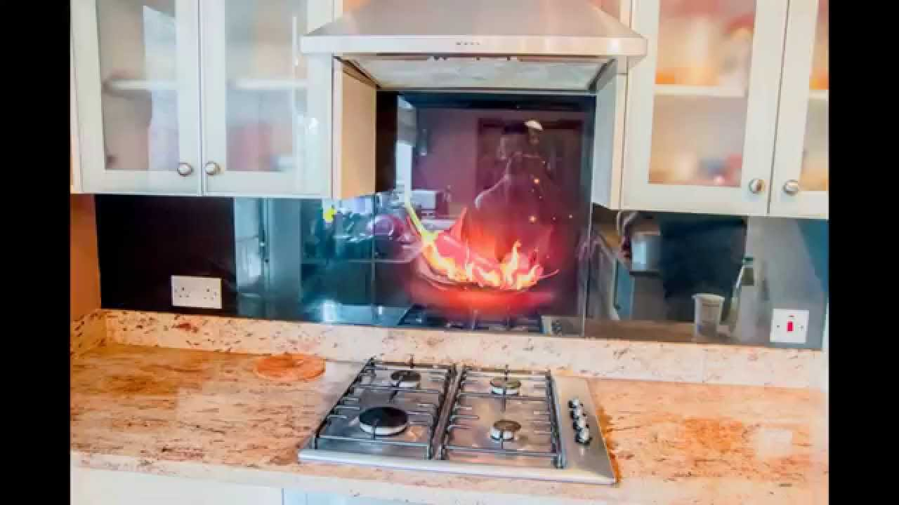 Kitchen Wall Tiles Design Honest Zeal Glass Splashbacks Collection - Creoglass Youtube