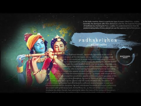 RADHA KRISHN soundtracks 12 - Title Track (Instrumental Flute Version) 🌟