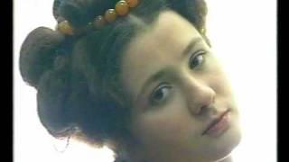 видео История русской свадебной прически