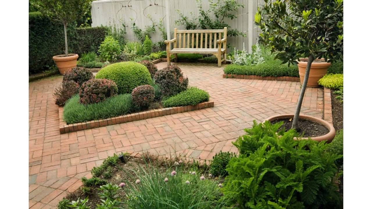 Very small gardens images galleries for Small patio design plans