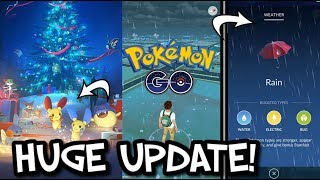 NEW DYNAMIC WEATHER FEATURE ADDED IN POKEMON GO! 50 NEW POKEMON RELEASED - GEN 3 UPDATE!
