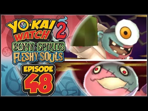 Yo-Kai Watch 2 Bony Spirits / Fleshy Souls - Episode 48   Dr. Maddiman & Hans Full!