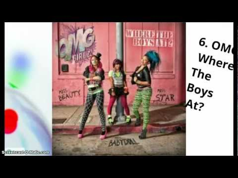 Top 10 new songs  July 2012 106&Park Music
