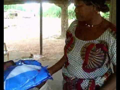 Ghana, Hohoe, Volta Region: Bednet distributions