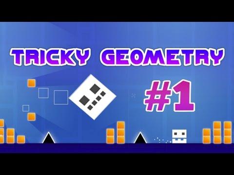 Tricky Geometry Intense iOS Gameplay #1