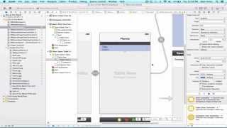 iOS Programming Tutorial - Use UITableView Delegate method - 17