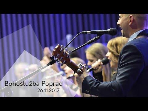 Bohoslužba Poprad 26.11.2017