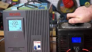 видео Ресанта АСН-5000/1-ЭМ: стабилизатор напряжения 5 кВА и 5 кВт купить с доставкой по Москве в интернет магазине, цена.