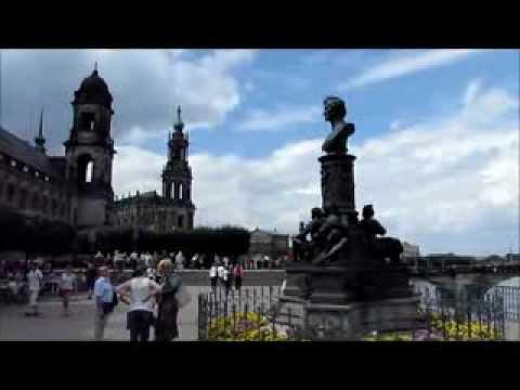 """""""Die Brühlsche Terrasse in Dresden""""- Live Video von Karin und Wolfgang Schmökel"""