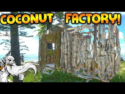 THE COCONUT FACTORY!!! - Let's Play Stranded Deep Gameplay