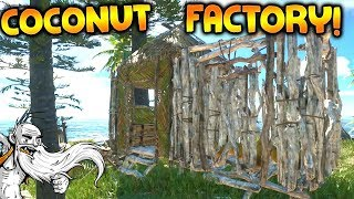 THE COCONUT FACTORY!!! - Let