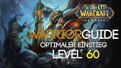 WoW Classic Warrior Guide Der Level 60 Krieger! (Skills, Stats, Skillung, Rotation etc.)