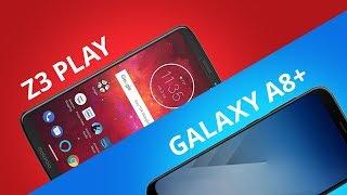 Motorola Moto Z3 Play vs Samsung Galaxy A8+ [Comparativo]