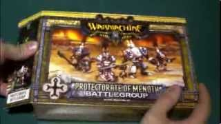 CC Unboxing - Warmachine, Protectorate of Menoth Battlegroup