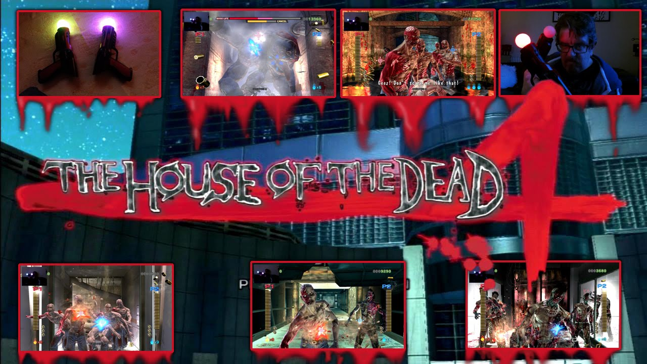 House Of The Dead 4 Ps3 Dual Gun Gameplay Youtube