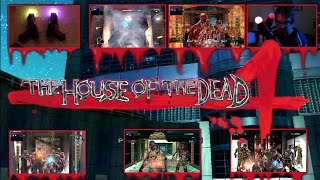 House of the Dead 4 (PS3) Dual gun gameplay