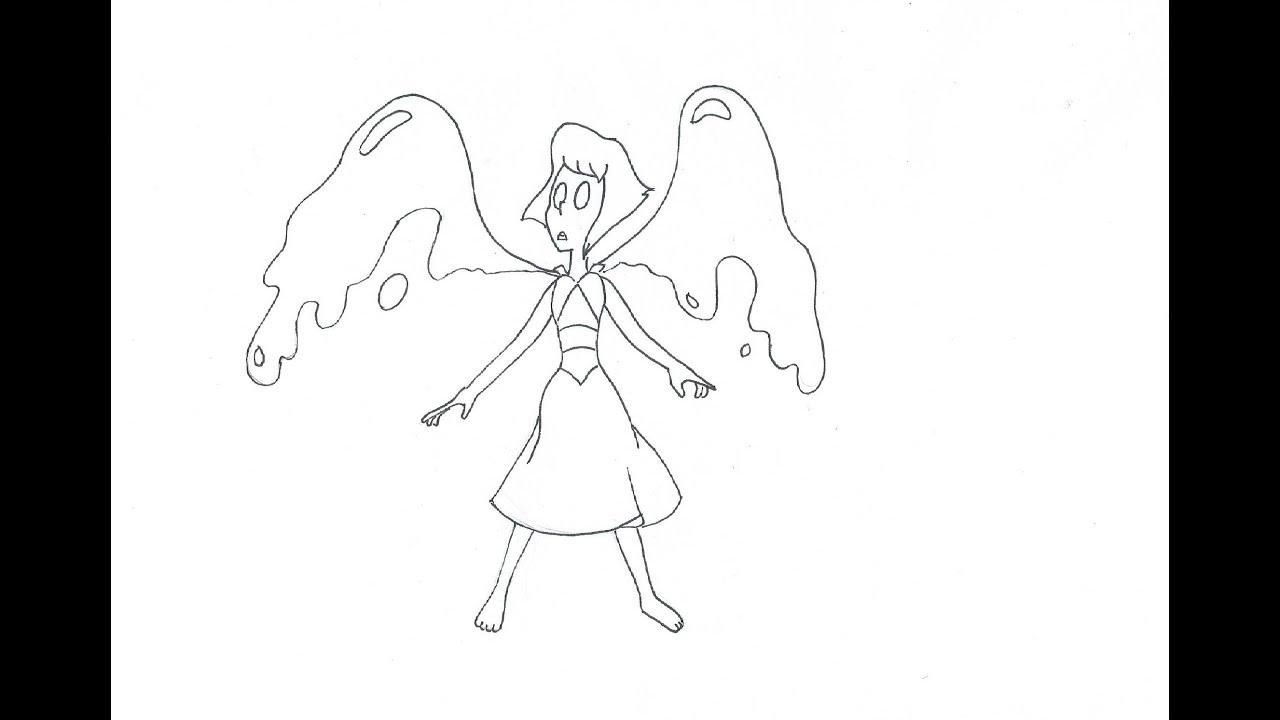 Como dibujar a Lapislázuli (Steven Universe) (rapido) - YouTube