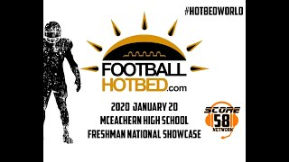 2020 Freshman National Showcase Football Hotbed