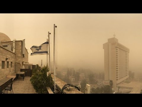 Is the 'Hand of God' Protecting Israel? Must See Weather Phenomenon