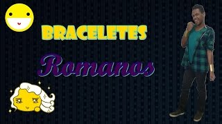DIY - Bracelete estilo romano