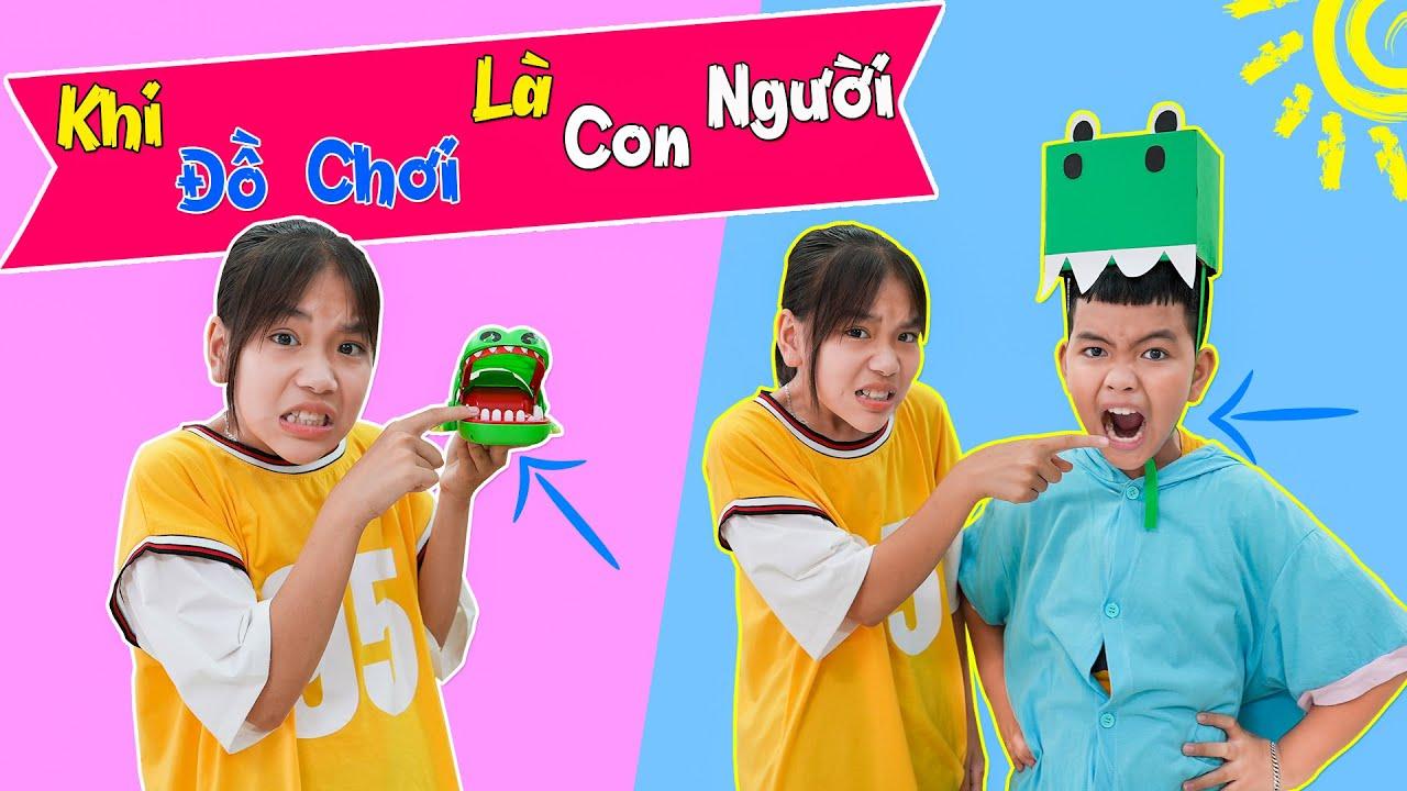 Download Khi Đồ Chơi Biến Thành Con Người ♥ Min Min TV Minh Khoa