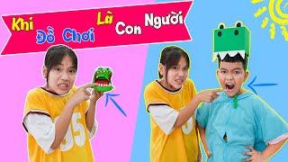 Khi Đồ Chơi Biến Thành Con Người ♥ Min Min TV Minh Khoa