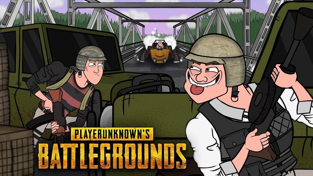 Playerunknown S Battlegrounds Cartoon: Тролли на мосту I Вся суть PLAYERUNKNOWN'S